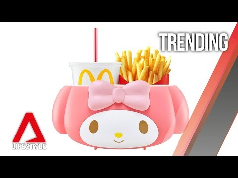 What you can do with the new McDonald's My Melody food holder | CNA Lifestyle