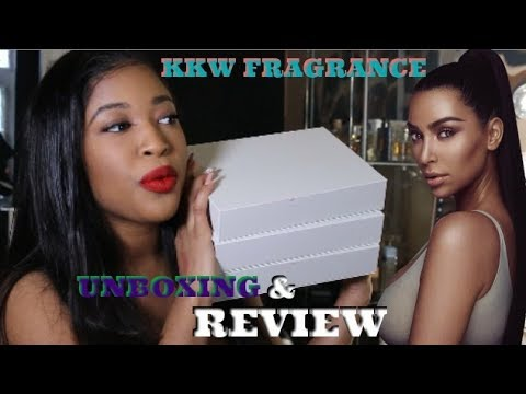 I GOT ALL OF THE KKW PERFUMES! | REVIEW + FIRST IMPRESSION