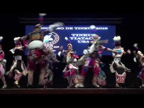 Tinkus Tiataco en el Concurso de tinkus 2019