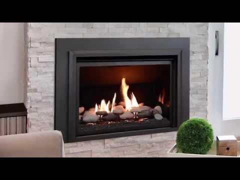 Chaska 34 Gas Fireplace Insert  Gas Fireplaces Inserts  Kozy Heat