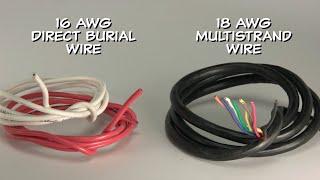 Choosing Sprinkler Wire
