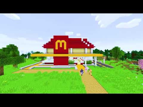 Fast Food Restaurant Mod for Minecraft .APK Video Trailer