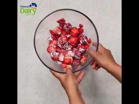 Strawberry cheesecake Yogurt