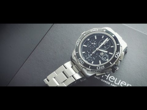 Unboxed Review of Tag Heuer Aquaracer Chronograph Men's Watch