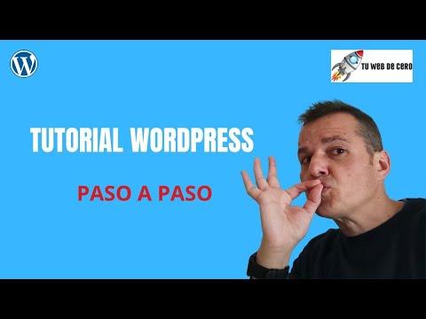 Tutorial Wordpress 2021 Desde Cero