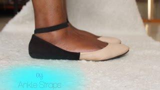 DIY Ankle Straps