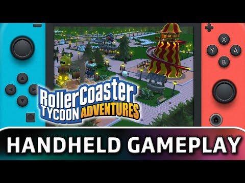 Nintendo Switch Gamplay :: RollerCoaster Tycoon World Общие обсуждения