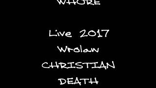 Martyr Whore live Christian Death Cover  Uncertain Journey Stair