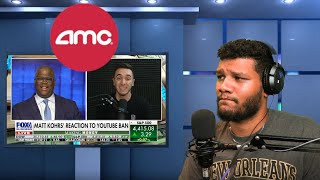 Matt Reacts To Charles Payne Interview With Matt Kohrs About AMC & YouTube Ban