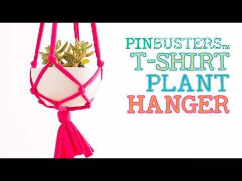 T-Shirt Plant Hanger // DOES THIS LIFE  HACK REALLY WORK?