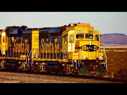 New Mexico Trains! 70+ Trains In 30 Minutes!