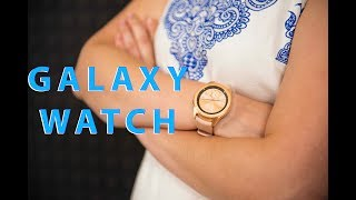 Смарт-часы Samsung Galaxy Watch 42mm LTE Rose Gold (SM-R810NZDA) от компании Cthp - видео 1