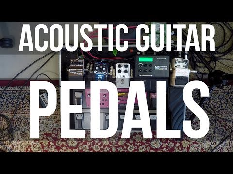 Acoustic Guitar Pedals for Live Gigs - Carl Wockner Equipment (tutorial 2 of 2)