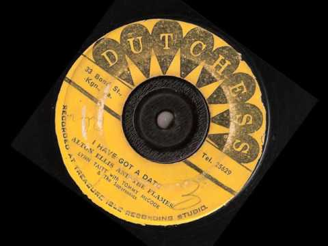 Alton Ellis And The Flames –  I Have Got A Date – dutchess records 1967