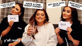 WHO'S MOST LIKELY TO.. FT HAN & MADS! | Rachel Leary