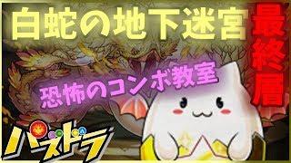 白蛇の地下迷宮最終10層…難関パズル教室再び!