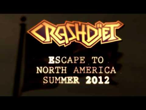 CRASHDÏET U.S TOUR August 2012