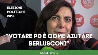 """Boldrini: """"Voto a PD e alleati, voto utile a alleanza con Berlusconi"""""""