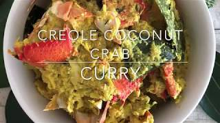 COCONUT CRAB CURRY   SEYCHELLES EDITION
