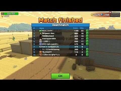 Pixel Gun 3D - Sub Match (JustSpawn VS Subscribers)