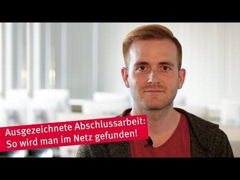 Tobias Merz - einer unserer besten Absolventen