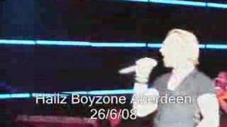 Boyzone One Kiss At A Time Aberdeen