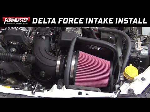 2013-18 Subaru BRZ, Scion FRS & Toyota 86 - Install: Delta Force Cold Air Intake 615163
