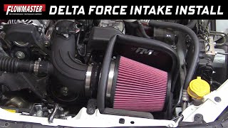 2013-19 Subaru BRZ, Scion FR-S & Toyota 86 - Install: Delta Force Cold Air Intake 615163