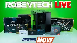 How to Build a PC - Newegg Now - $1600 Build - Ryzen 3600x / 2070 Super (Plus Gameplay)