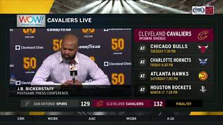 The Cavs are now 5-5 under new head coach J.B. Bickerstaff