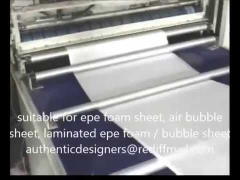 EPE Foam Sheet Bag Making Machine