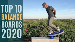 Top 10: Best Balance Boards for 2020 / Balance Board Workout, Exercise, Fitness for Home, Gym