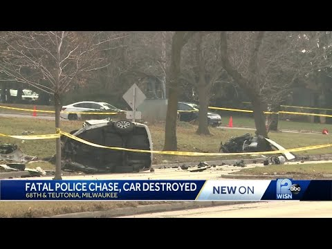 Wanted man killed in crash after police pursuit