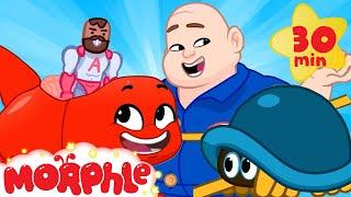 Moprhles Magic Friend! - My Magic Pet Morphle | Cartoons For Kids | Morphle | Mila and Morphle