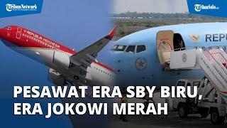Perubahan Cat Pesawat Kepresidenan Jadi Polemik, Era SBY Dicat Biru-Putih, Jaman Jokowi Merah-Putih