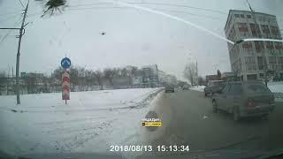 Новосибирск. ДТП в Железнодорожном районе