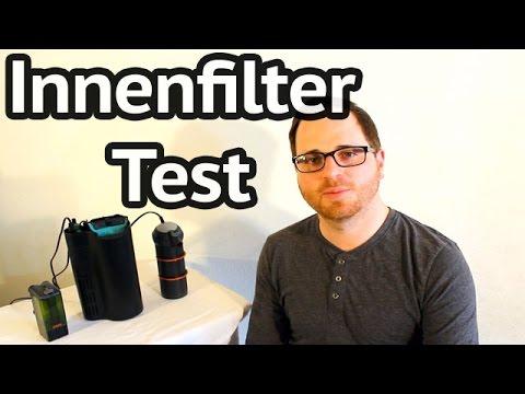 Aquarium Innenfilter Test - Eheim Pickup, Tetra EasyCrystal & Eheim biopower
