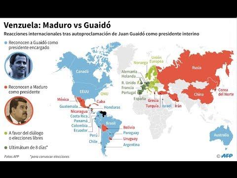 ALERTA  FATAL referente a Venezuela EEUU vs China , Irán , Rusia , Cuba , Turkia y México 2019