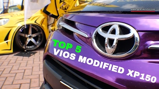 New Toyota Vios XP150 Modified - TOP 5 Compilation 2016