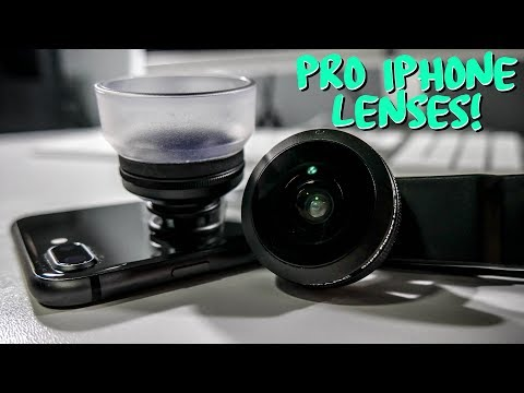 AMAZING Budget iPhone Filmmaker/Photographer Lenses!! (SANDMARC Review)