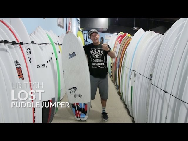 Lib Tech ...Lost Puddle Jumper Surfboard Review