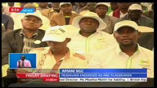 ANC endorses Musalia Mudavadi as party's presidential flag bearer