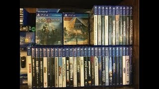 My Small PS4 Video Game Collection! [2018]