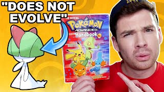 Official Pokemon Handbooks That Are WRONG