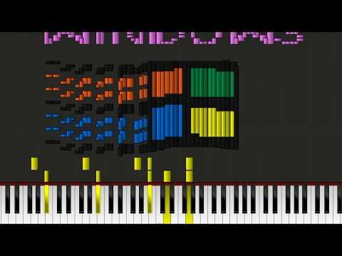 Dark MIDI - Windows 7 startup and shutdown Feat  Sześcian
