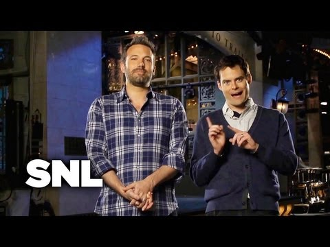 SNL Promo: Ben Affleck - Saturday Night Live