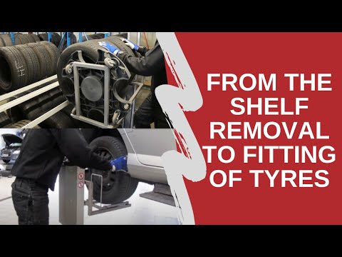 Hovmand- Increased efficiency at tire centers and car dealers Icon