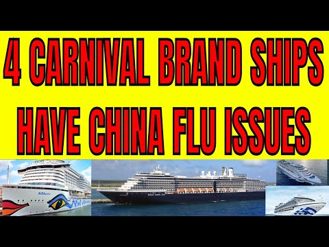 4 Carnival Brand Ships Have China Flu Issues in Singapore Philippines Japan and the Caribbean