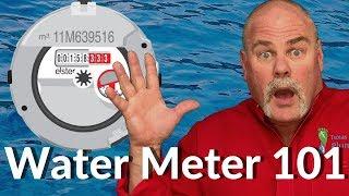 Water Meter 101 For Homeowners | Plumbing Basics |The Expert Plumber