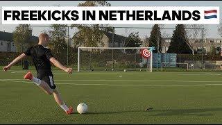 FREEKICKS TRAINING IN NETHERLANDS 🇳🇱 | ТРЕНИРОВКА ШТРАФНЫХ В ГОЛЛАНДИИ
